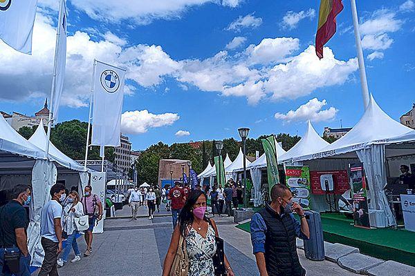 Gran éxito de la Feria del Vehículo Eléctrico de Madrid, con más de 22.000 visitantes